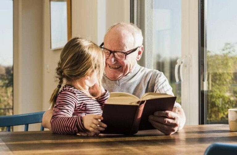 Grandparents Help Develop Their Grandchildrens' Abilities